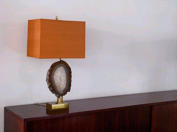 Geode lamp