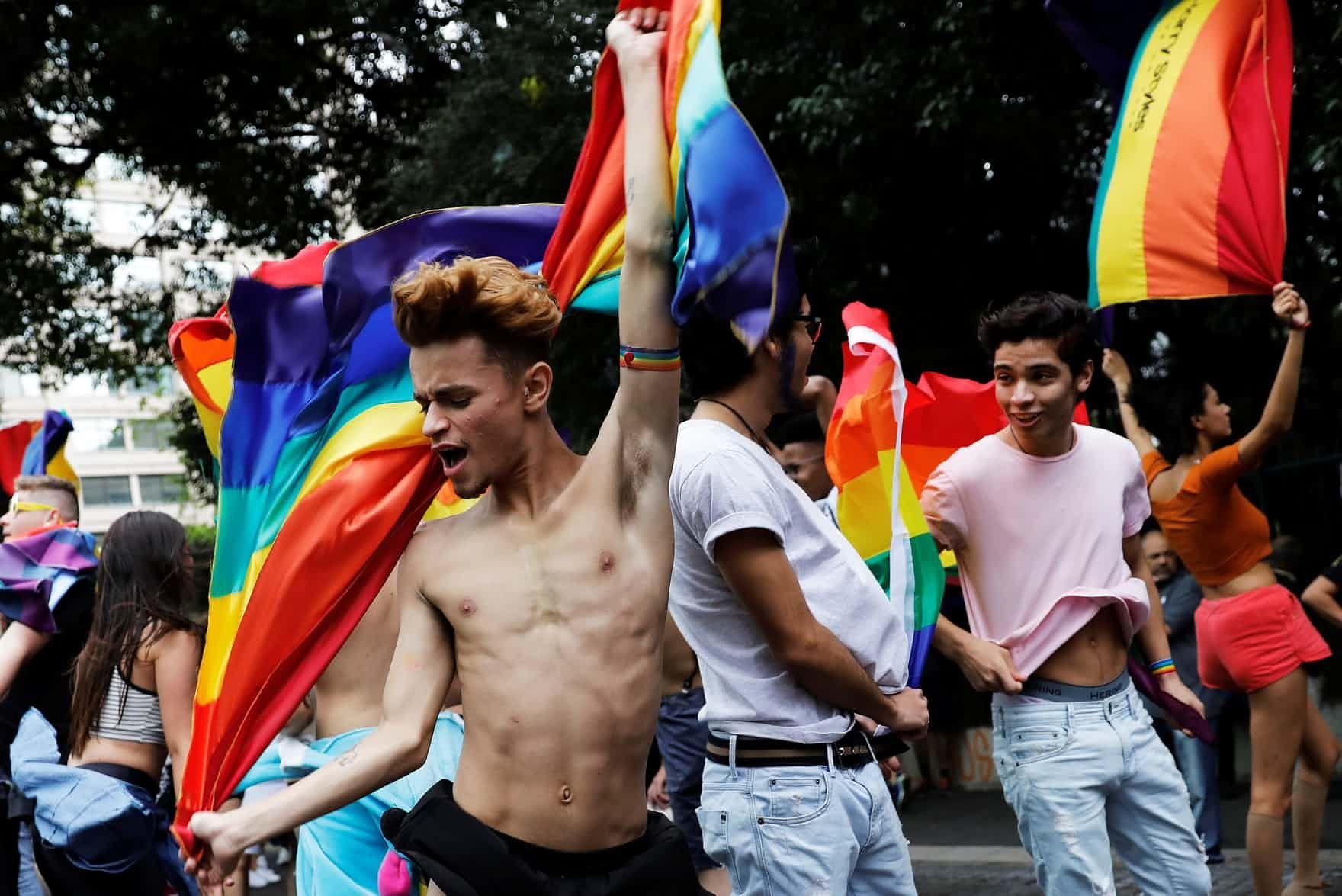 Gay pride posterflyer by minkki