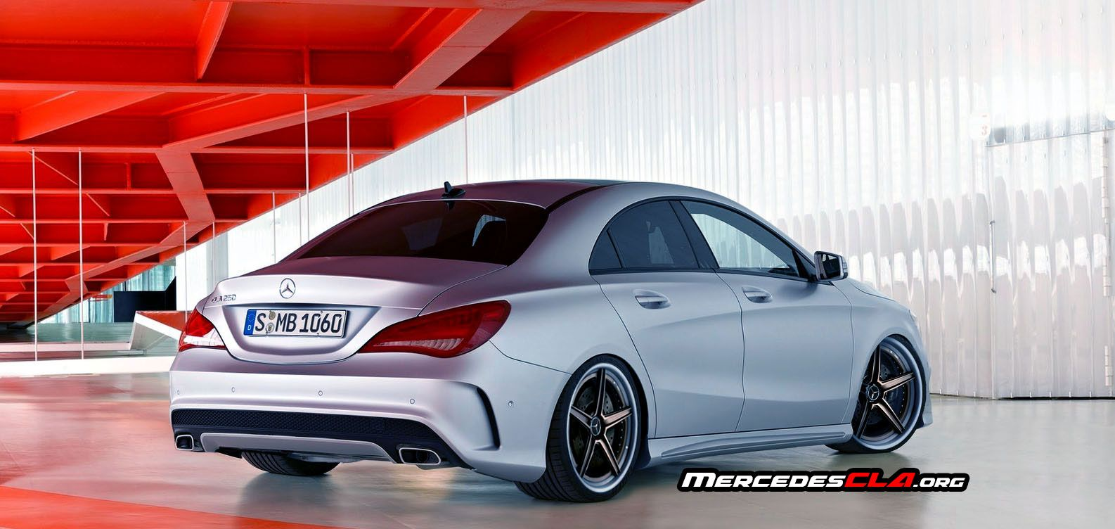Photoshopped Mercedes Benz Cla Lowered Wheels 2 Tone And