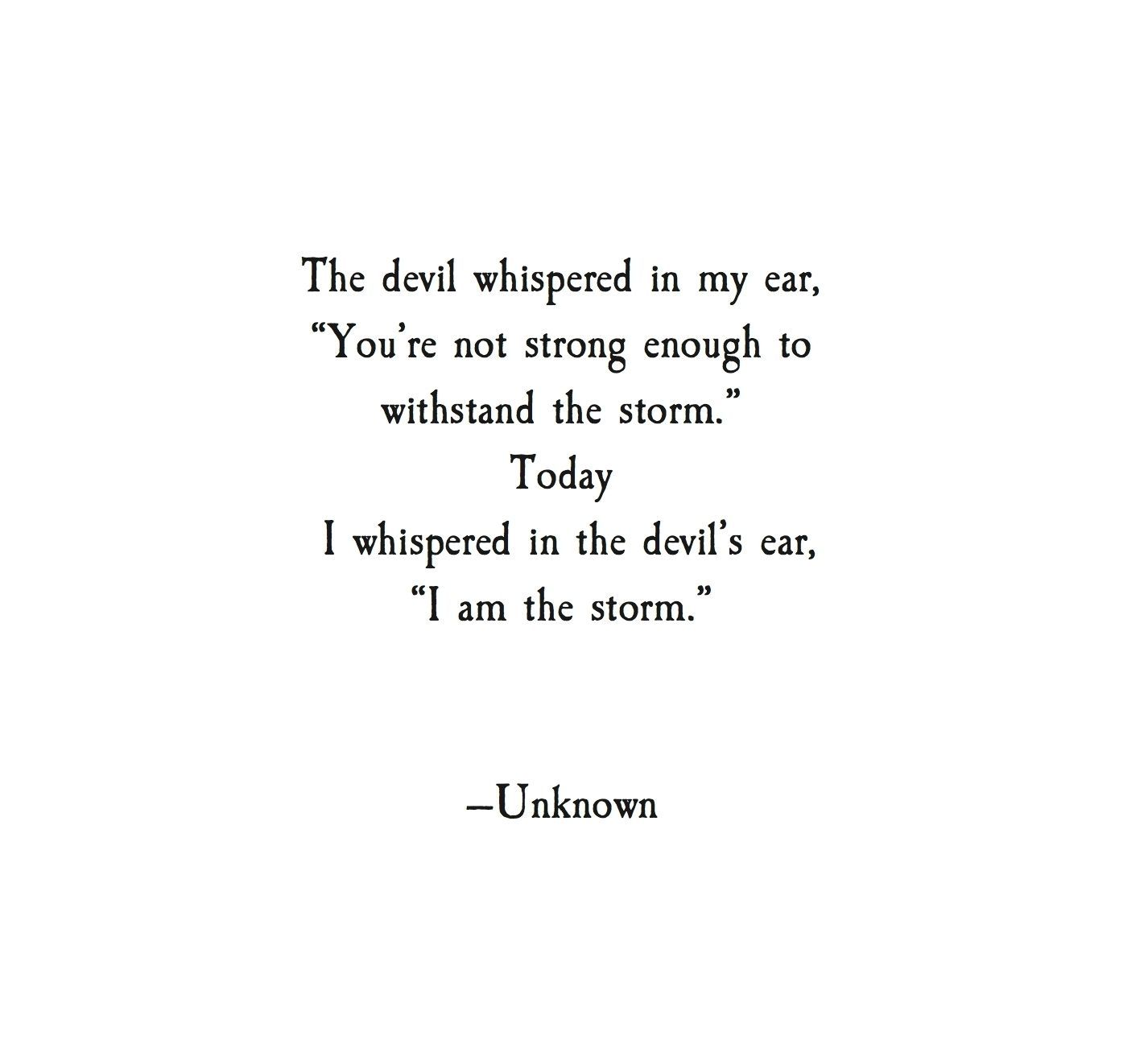Best 20 i am the storm quote - SO LIFE QUOTES