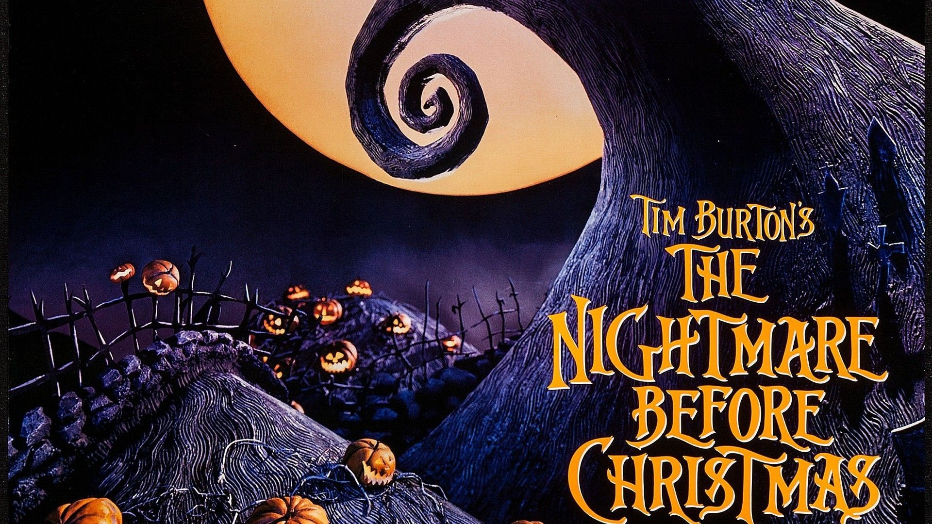 General 1920x1080 The Nightmare Before Christmas Tim Burton Claymation Pumpkin High Quality WallpapersLive