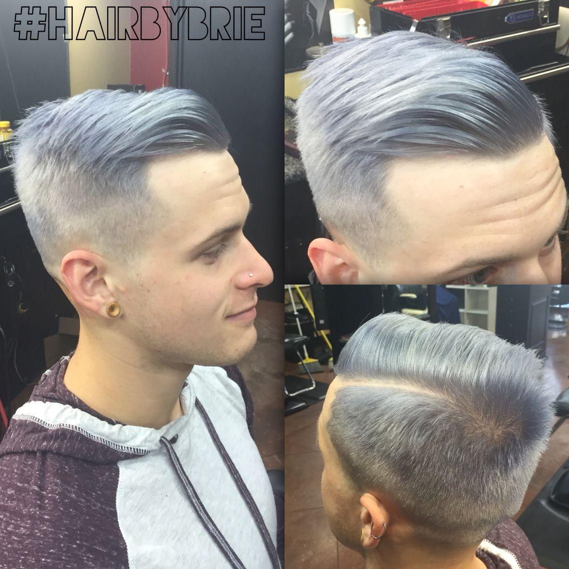 mens silver hair hairstyle pinterest silver hair