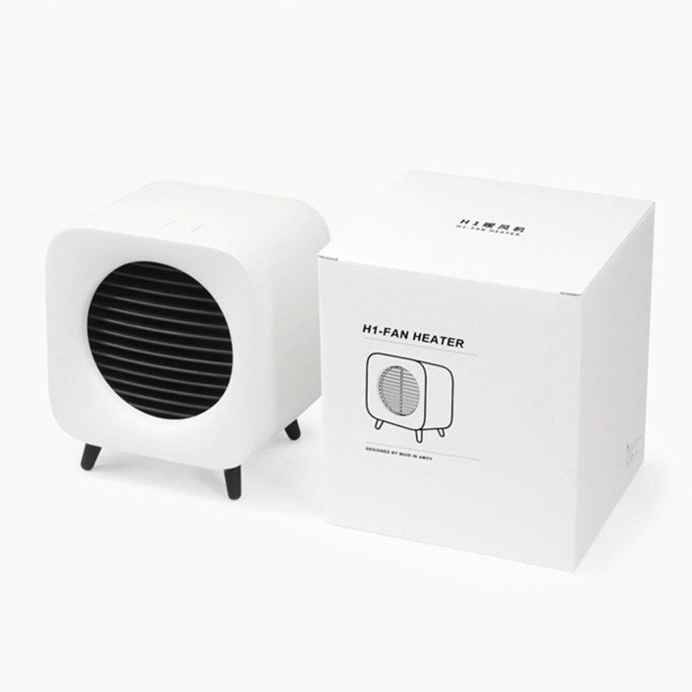220v 700w Space Ceramic Heater Mini Fan Warmer Portable Bedside Fan Retro Electric Heater For Home Office Ceramic Heater Electric Heater Heater