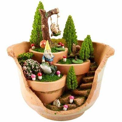 Tiny Treasures Miniatures FAIRY GARDENS Pinterest Weekly ads