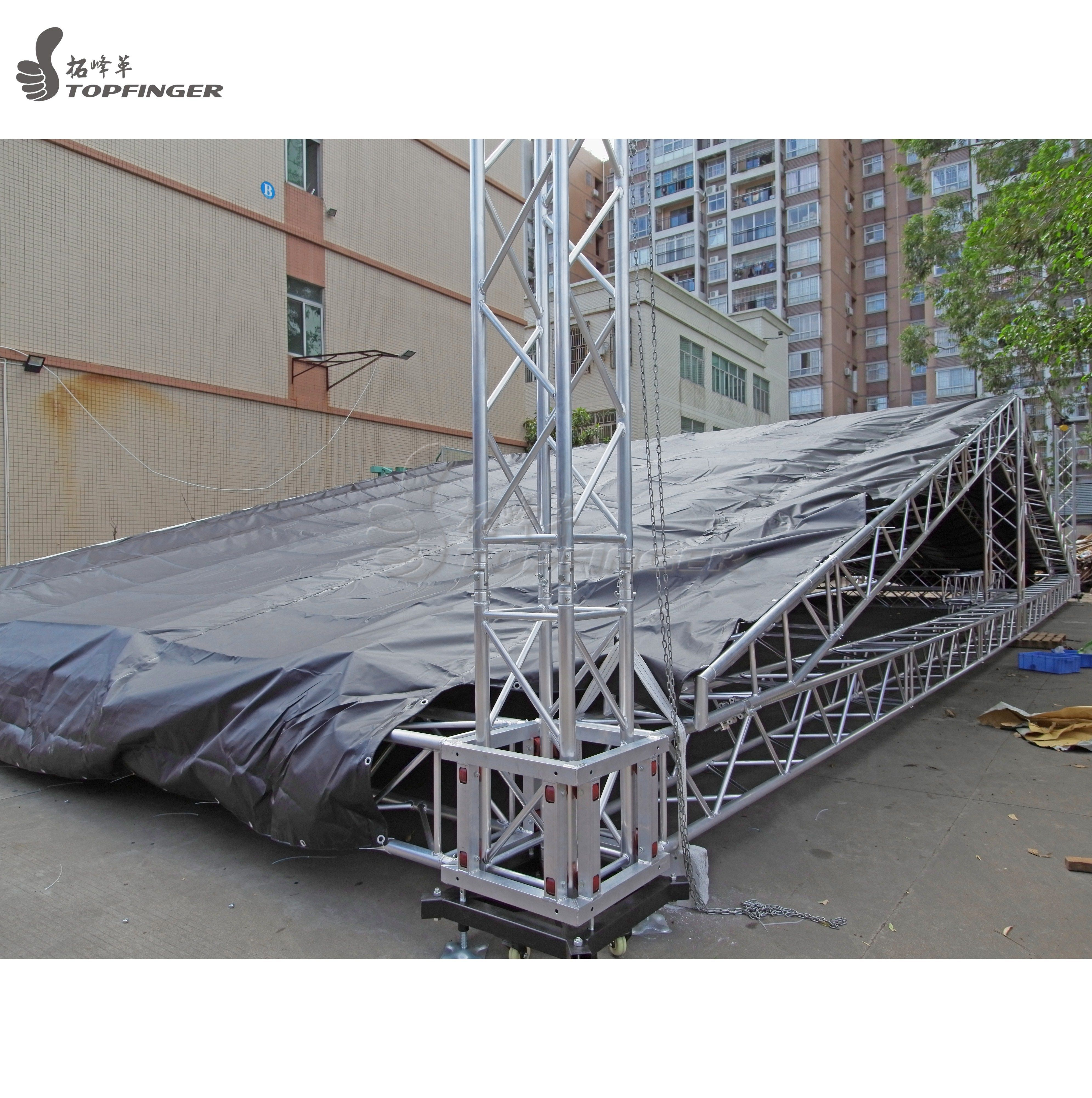 Truss Roof Cover Black Canvas Material With Customized Size To Meet The Requirements Email Grace Topfinger Roof Truss Design Window Grill Design Roof Trusses