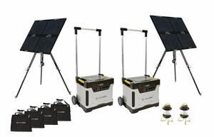 Goal Zero Yeti Ultimate Solar Generator Kit 200 Ah Battery Power 240 Watt Solar Power Solar Generator Solar Lights