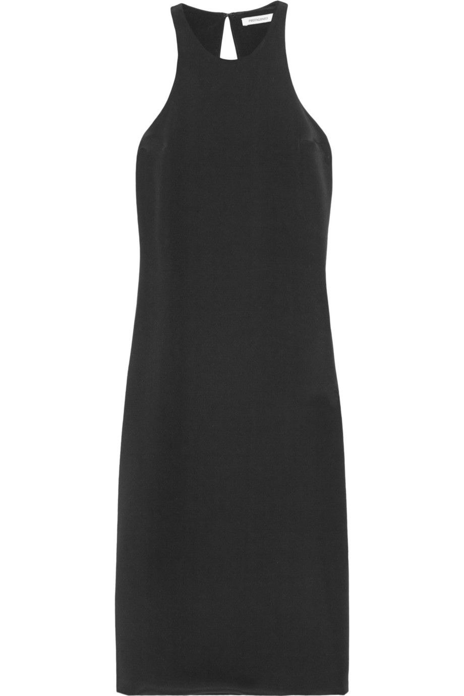 8389a4c0a5822 PROTAGONIST Silk-satin dress. #protagonist #cloth #dress | Protagonist