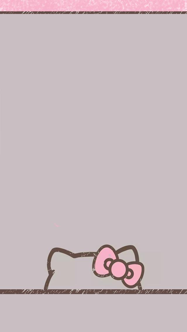Love Pink Gray Hk Wallpapers Freebie Hello Kitty Wallpaper Hello Kitty Backgrounds Kitty Wallpaper
