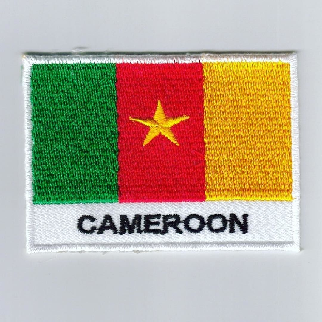 Cameroon Embroidered Patches - COUNTRY FLAG PATCHES / IRON ON BADGES  Patch Size # 7cm(w) x 5cm(h) 100% Embrodiered Cameroon Flag  Sew-on  iron-on and velcro backing option avlable as customer demand without extra cost  Worldwide shipping contact us for price .  Special discount for Large quntity order   Email : info@welldonebadges.com  Website : http://bit.ly/1Pp89oM  #Patches #Flag #embroidery #embroideredpatches #flagpatch #countryflagpatches