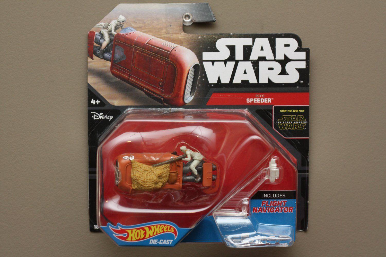 Plush New Toy Star Wars Rey in speeder