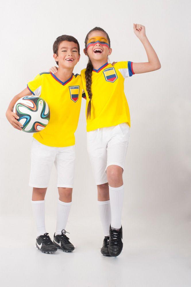 Ya todos los niños deben tener la camiseta  Fútbol  EPK para apoyar su  selección  Colombia. 9ecf6f1ac1dd8