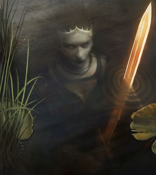 The Lady of the Lake by thejeffster, Digital Art / Drawings & Paintings / Fantasy©2009-2014 thejeffster