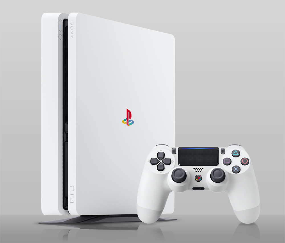 The New White Ps4 We Really Want Http Ift Tt 2j0qldd Retro Games Console Playstation Consoles Video Games Ps4