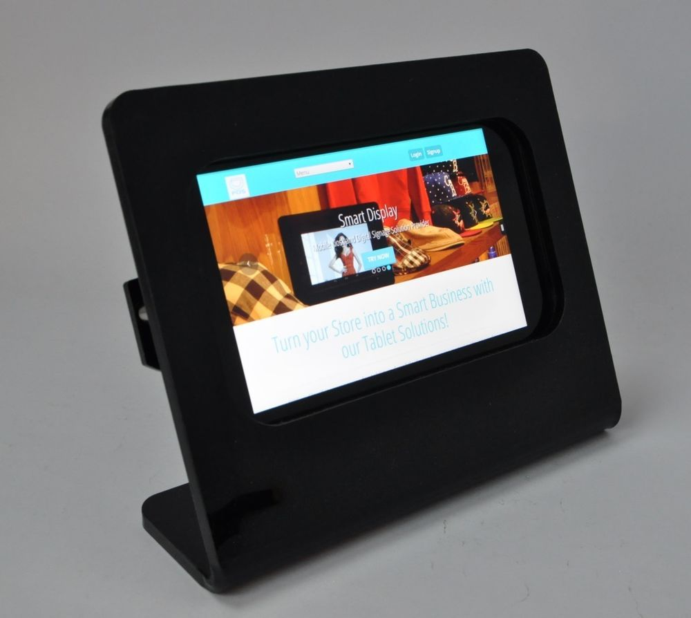 Details about Amazon Fire HD 8 Acrylic Anti-Theft Kit for Kiosk, POS