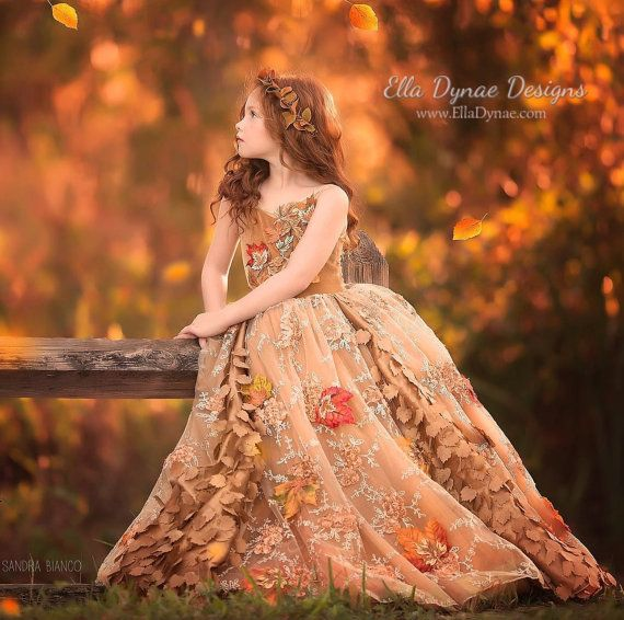 LIMITED EDITION Frosted Autumn Gown