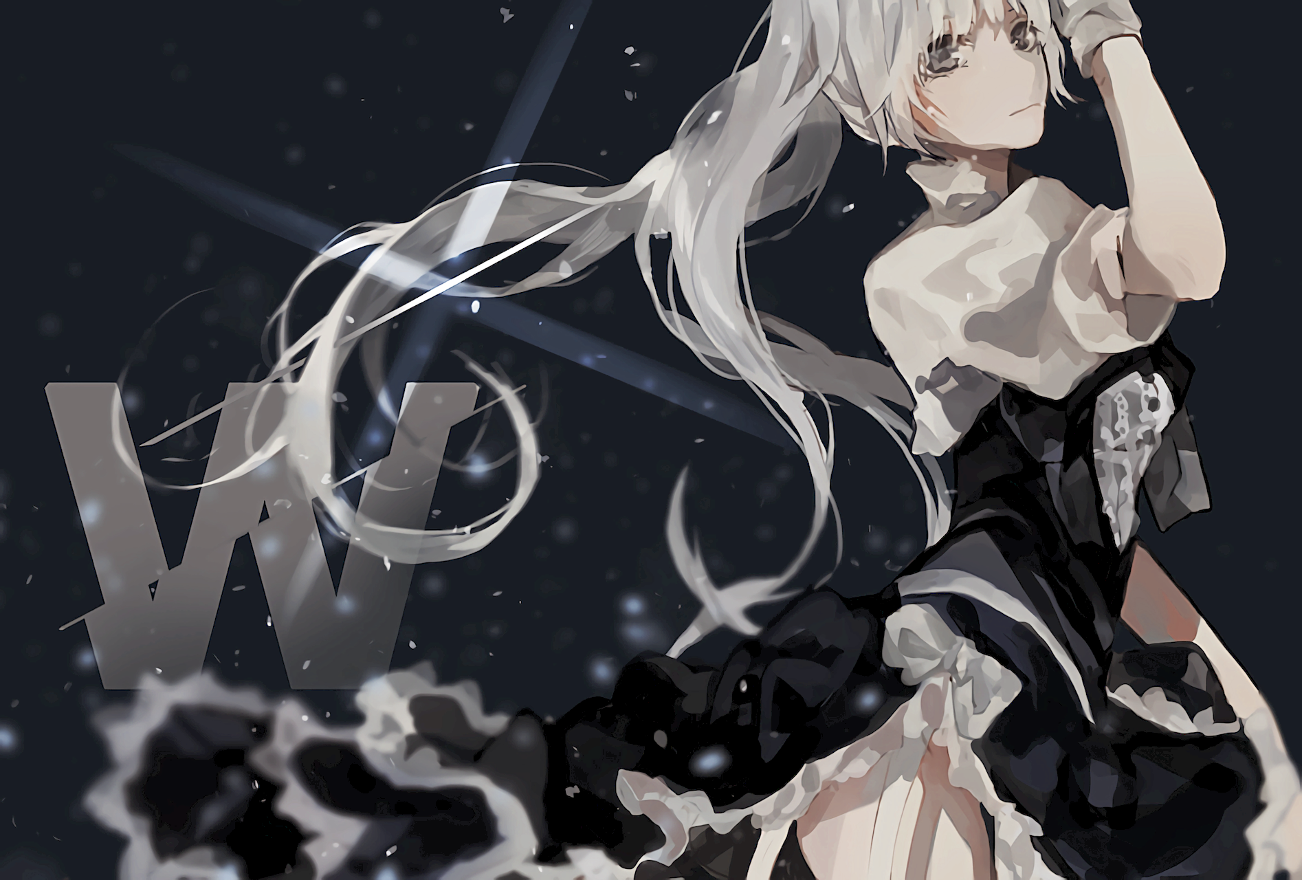 Weiss Computer Wallpapers Desktop Backgrounds 1894x1280 Id 552395 Rwby Anime Rwby Rwby Weiss