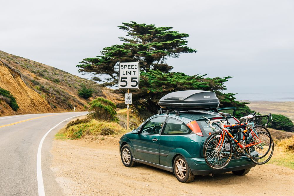 We spent a few days with car dwellers Megan + Michael back in November, and  it feels good to be catching up with them again. We are inspired by their  travels and hopeful that there are people out there making it work in  something they might already own. Not only might a car get you places  fa