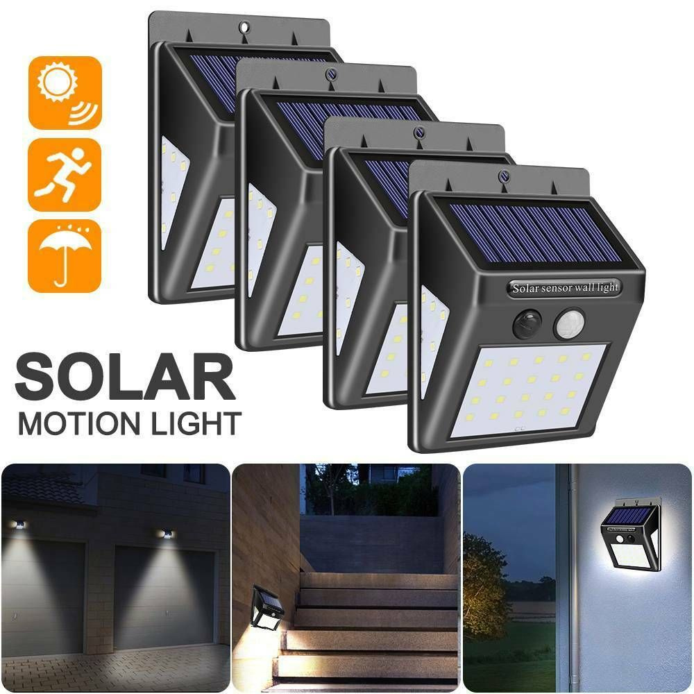 Best Solar Powered Motion Security Light Zacs Gardensolar Lights Motion Sensor Outdoor Solar Spotlight Solar Lights Security Lights Solar Wall Lights