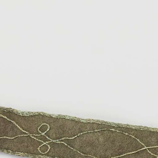 Woven belt with embroidery c1590