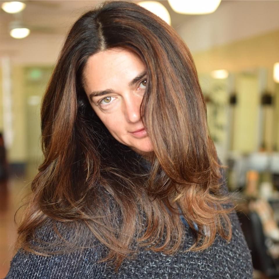 Beautiful brunette balayage... Say that five times fast then book your next salon appointment at #RobertJamesColor: http://bit.ly/1GgFqkt