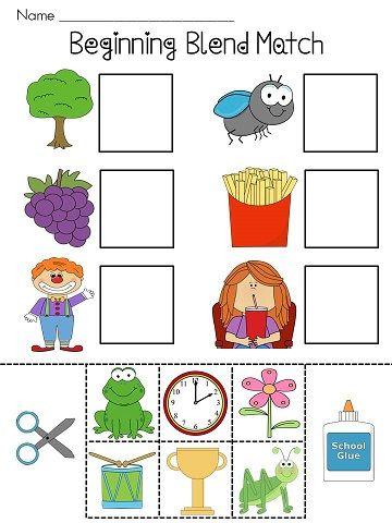 Beginning Blends Worksheets Literacy Pinterest Worksheets