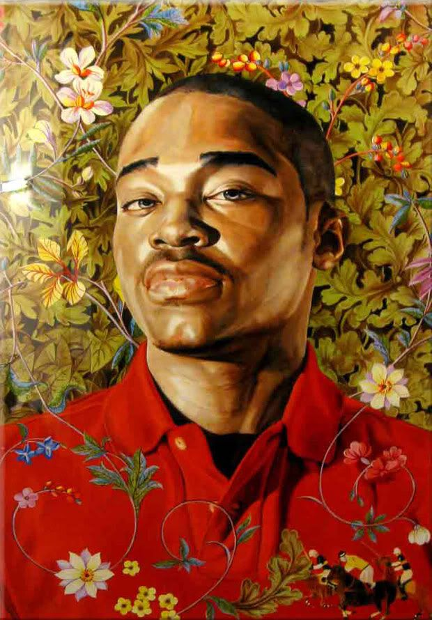 Kehinde Wiley Figurative & Rococo Painting Urban