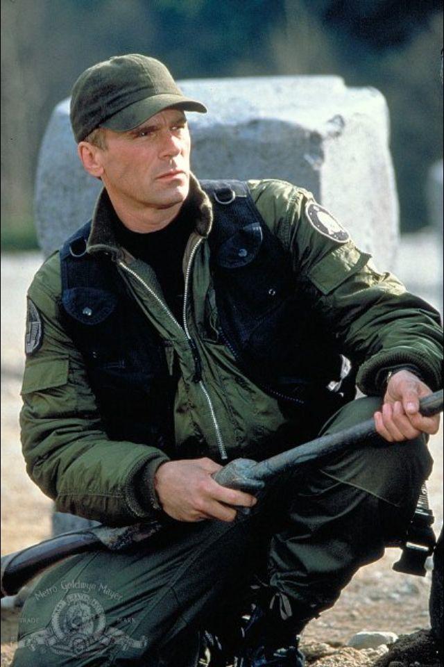 Richard Dean Anderson als Jack O'Neill. Mein zweit lieblings Stargate SG-1 Charakter.