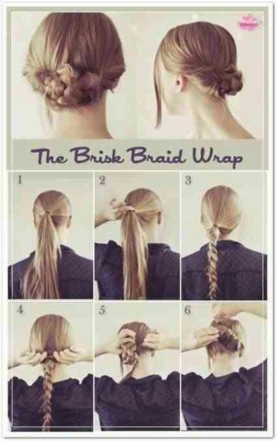 Quick And Easy Way To Keep Your Hair Out Of Your Face For School Hair Hair Styles Hair Beauty