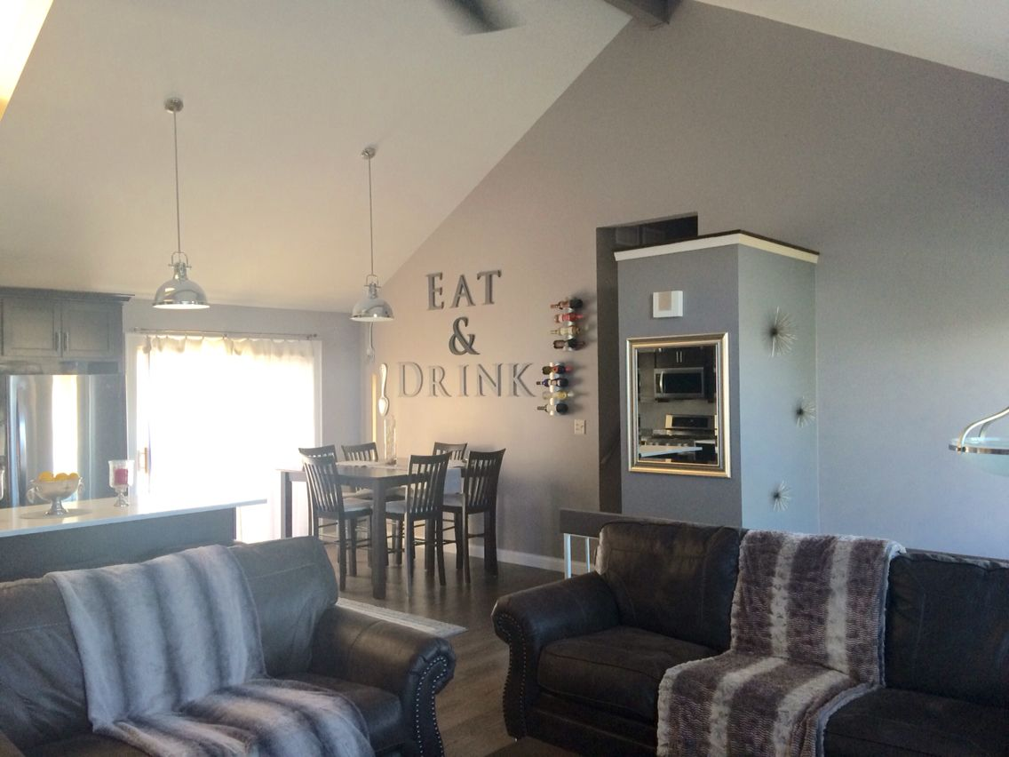 Wall Removal Vaulted Ceilings Raised Ranch Open Concept