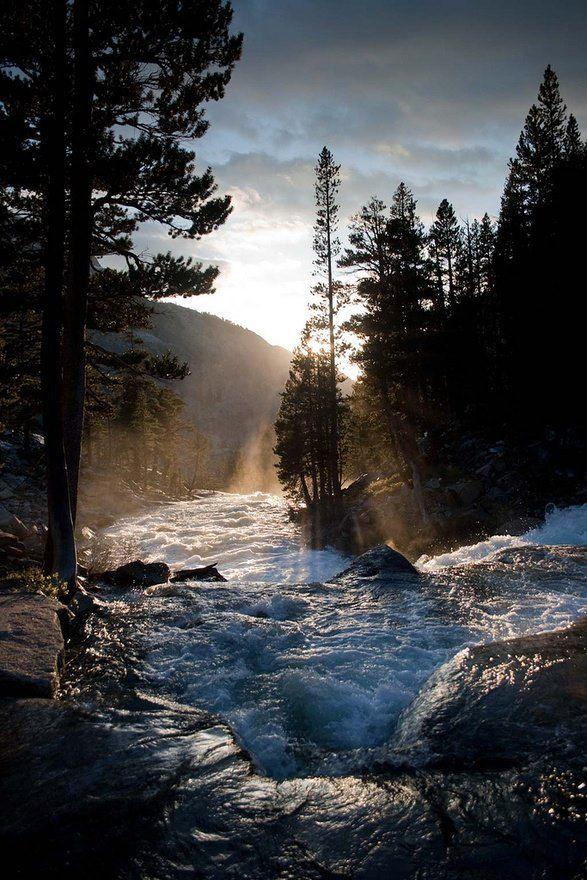 Edison Lake - Pacific Crest Trail; Sierra Nevada