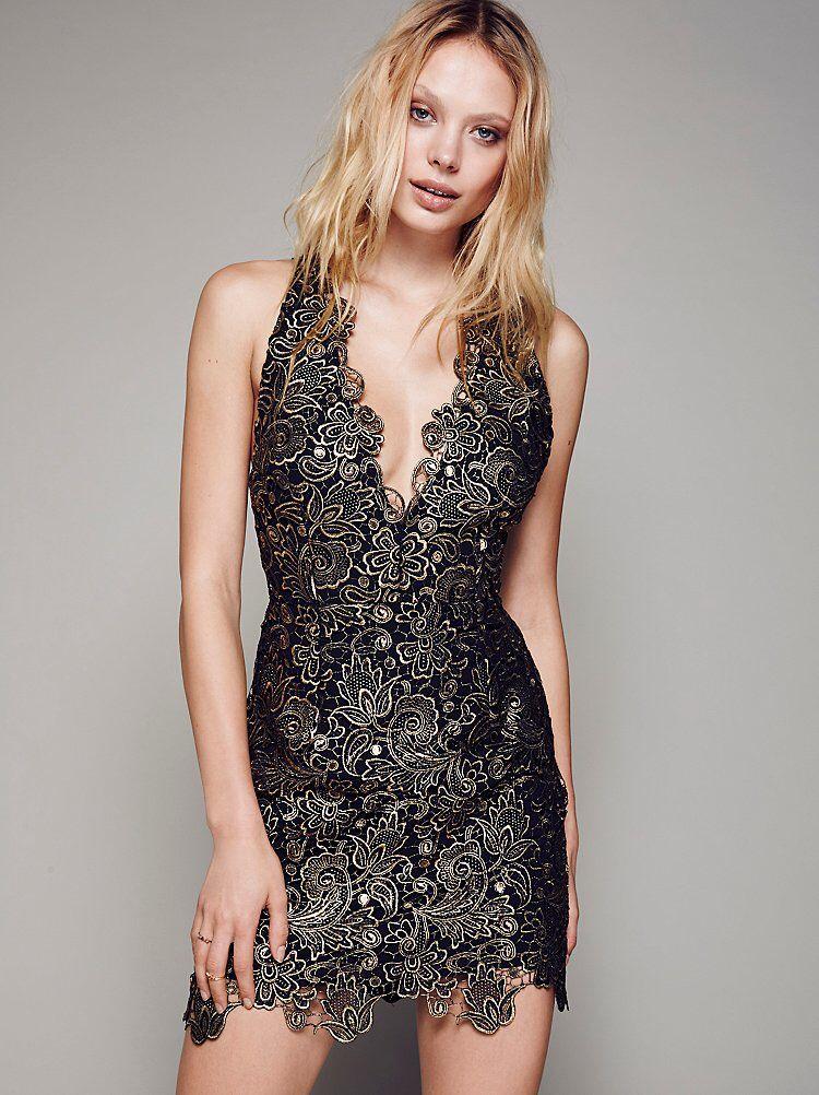 Tessa Lace Mini Dress from Free People!  c407bd46f
