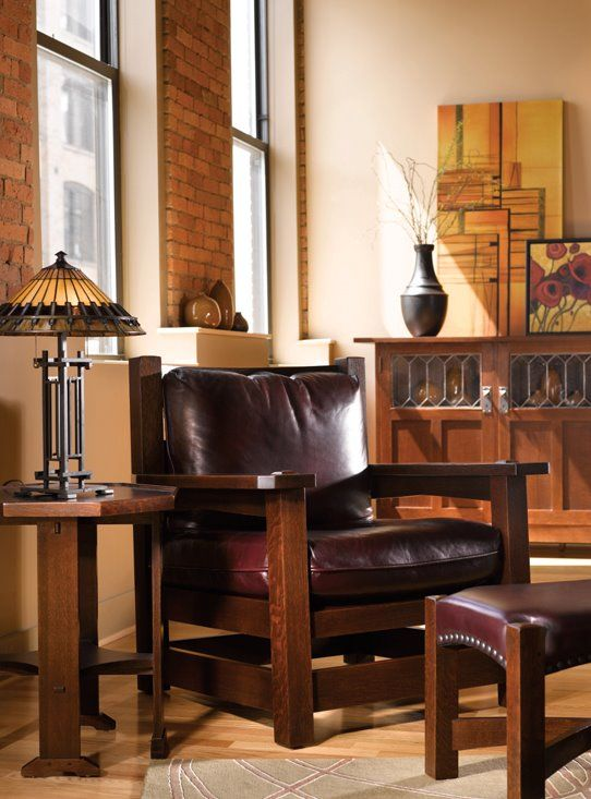 Stickley Eastwood Chair Crafted In Upstate New York For 100 Years