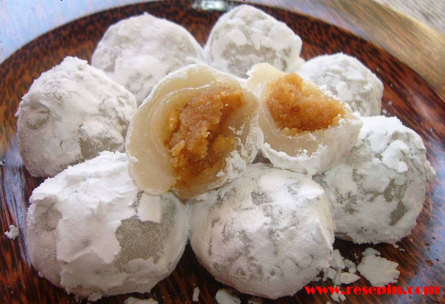 Cara Membuat Kue Mochi Enak Dan Kenyal Kue Mochi Adalah Kue Basah Yang Terbuat Dari Tepung Beras Ketan Yang Dicampur Dengan Ba Moci Resep Kue Resep Sederhana