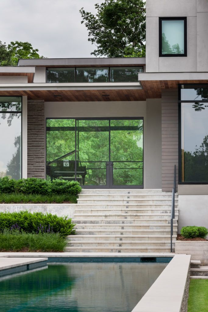 By Larue Architects: House Styles, Steel Doors And Windows, Architect