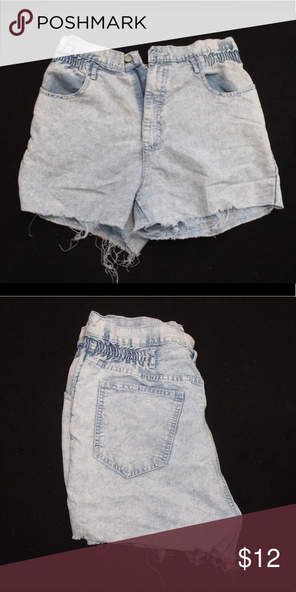 Vintage acid wash cut offs Vintage acid wash cut off shorts! Size 14 but runs small!!! Fits like an 8! Shorts