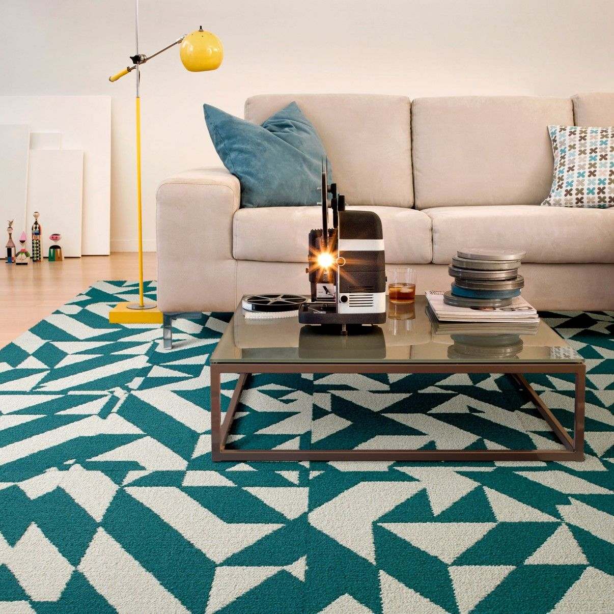 how to measure for carpet squares