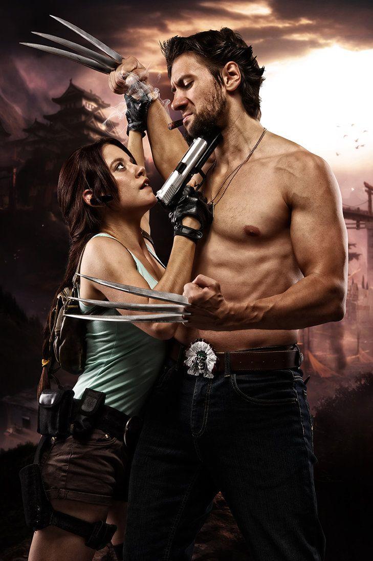 Wolverine vs Lara Croft