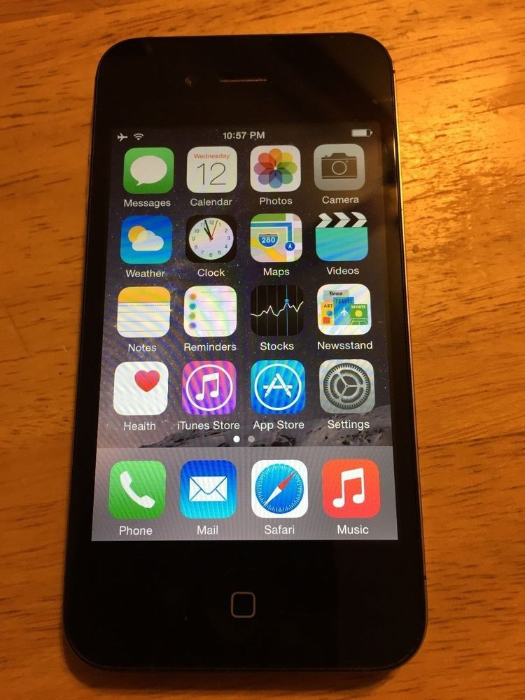 iPhone 4s with Otterbox Defenter series case is up for