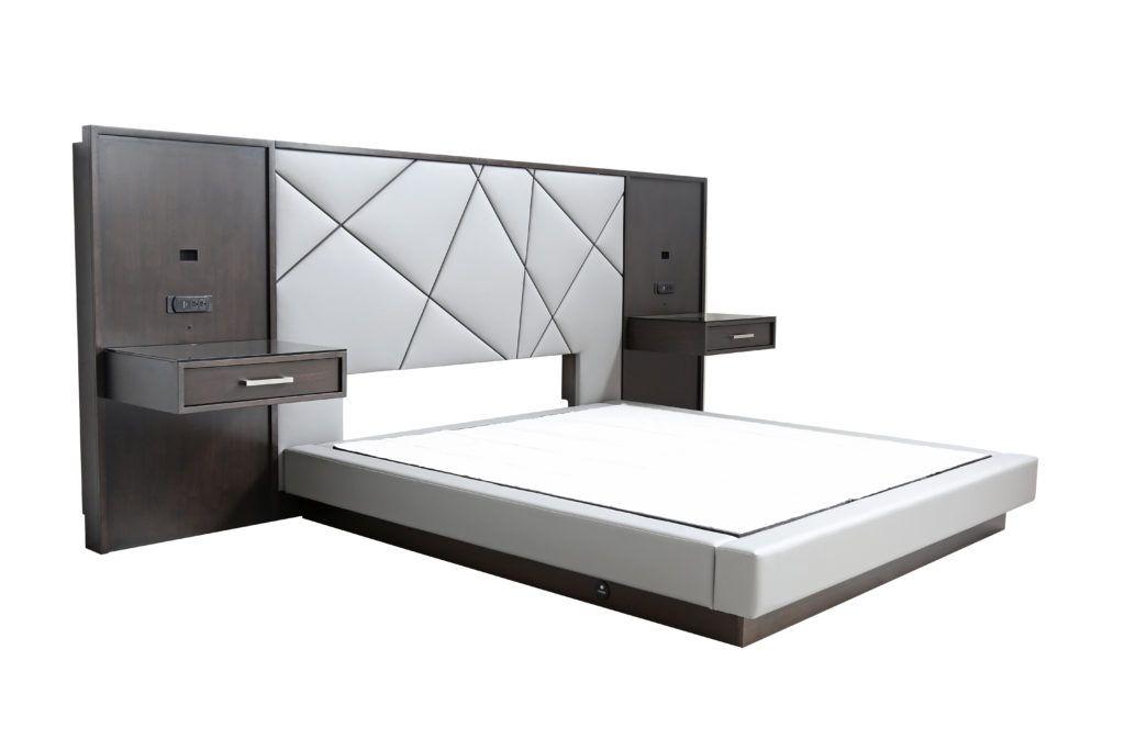 8619 Headboards And Beds Upholstered King Platform