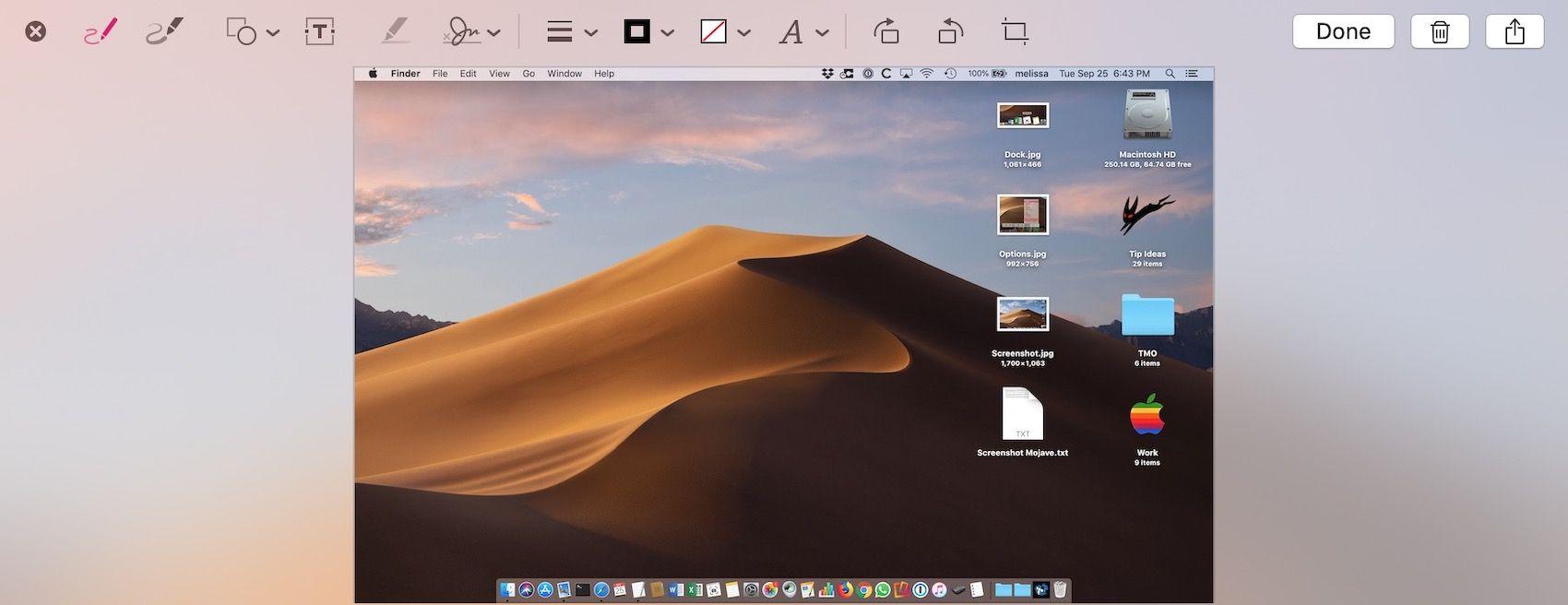 macOS Mojave Disabling the Screenshot Thumbnail Mojave