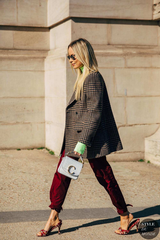 Paris FW 2019 Street Style: Thora Valdimarsdottir - STYLE DU MONDE | Street Style Street Fashion Photos Thora Valdimarsdottir #parisstyle