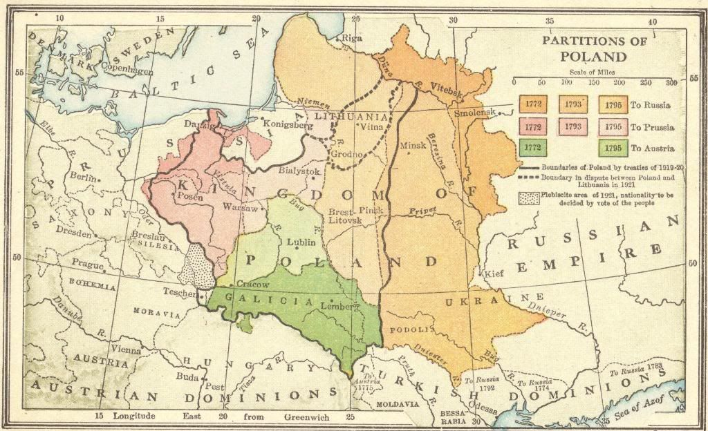 Interactive Map Quiz on the Partitions of Poland for High ...