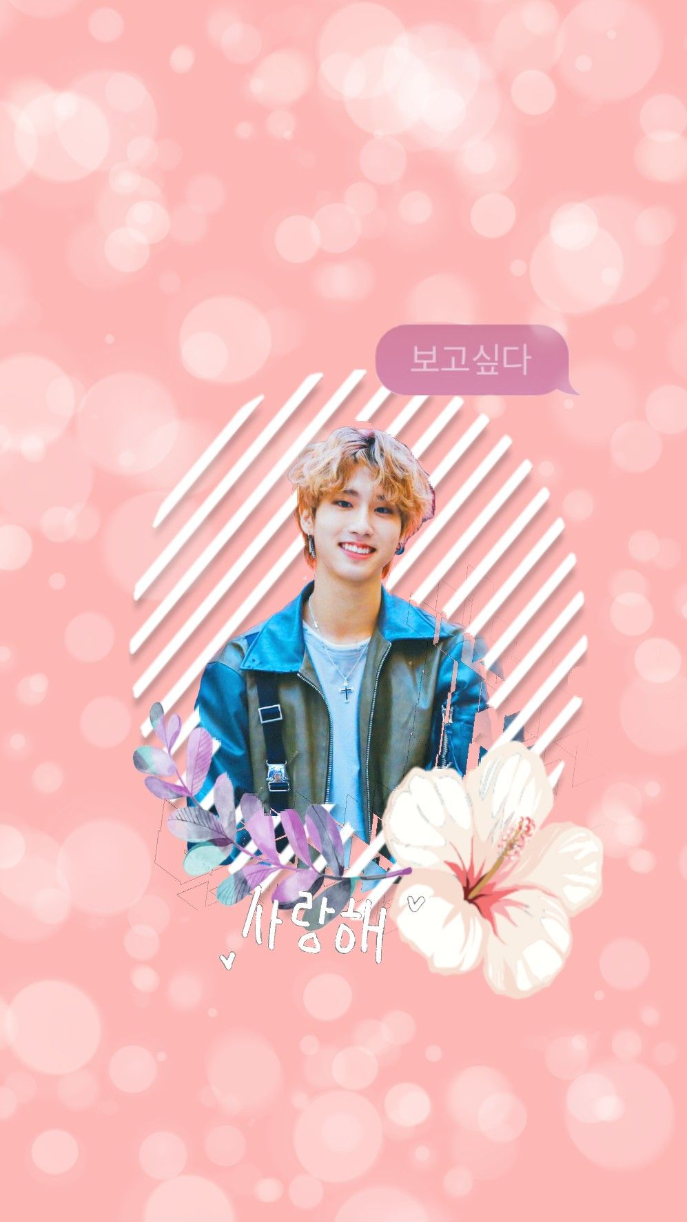 Han Jisung Cute Stray Kids Wallpaper Background Iphone Samsung Lg