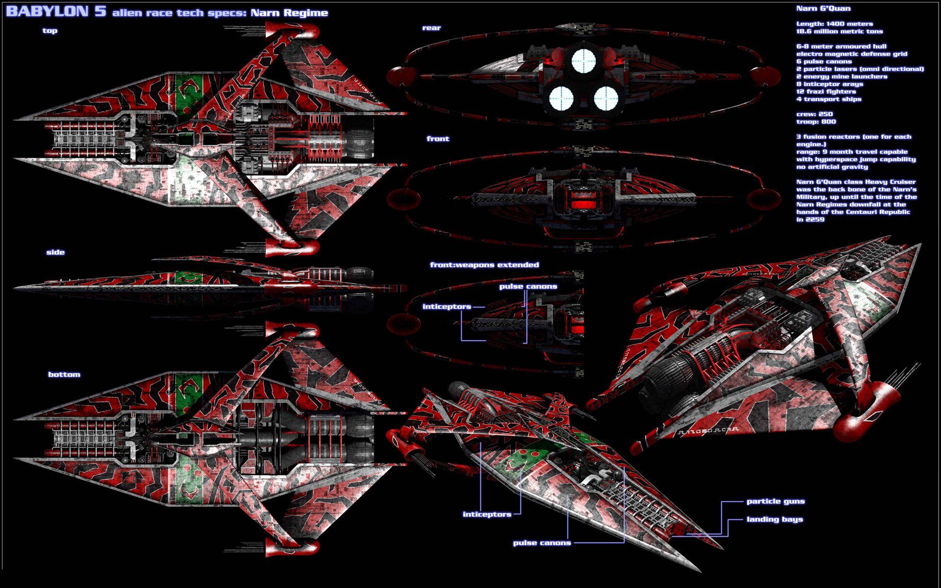 Narn Regime Spaceship