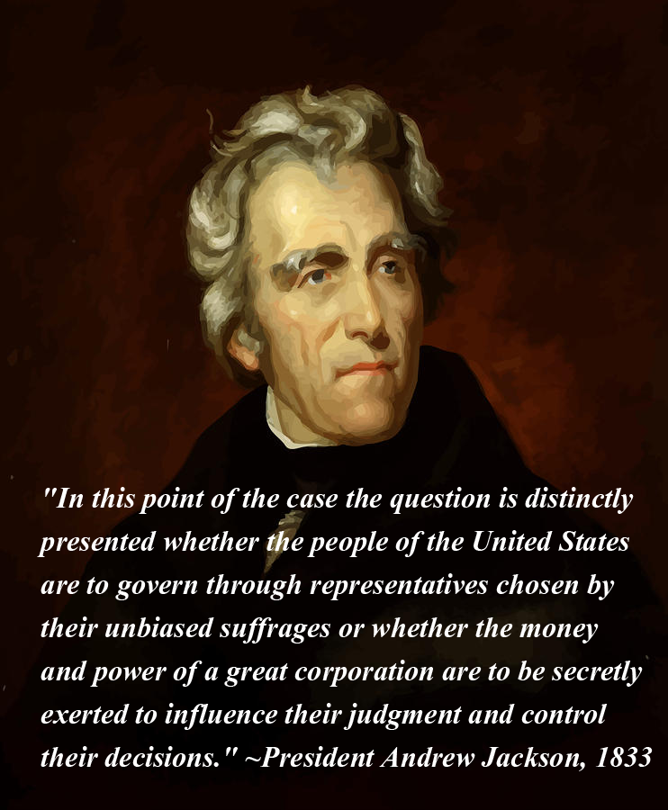 Andrew Jackson Quotes President Andrew Jackson Read This And You Realize Its Something