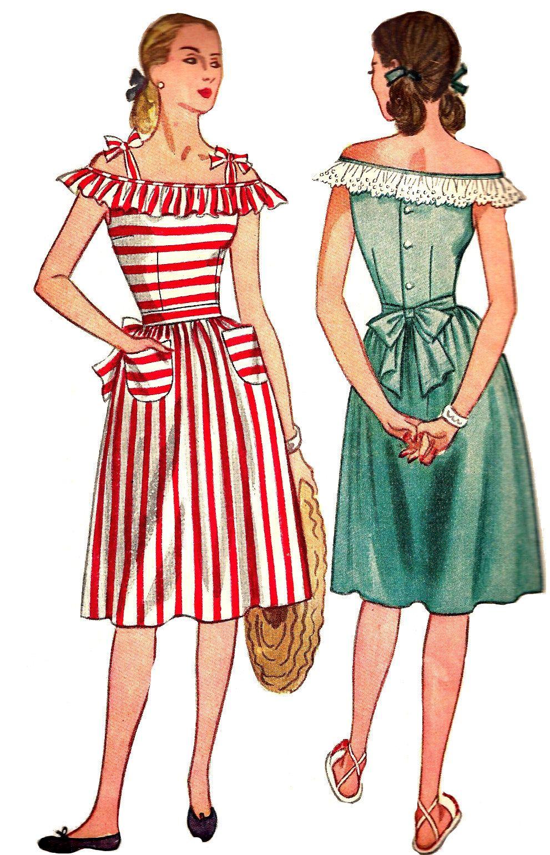 tie strap dress sewing pattern