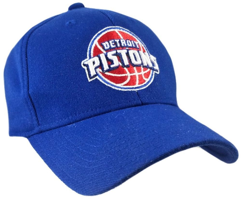 ced0065a9b1  DETROIT  PISTONS  DETROITPISTONS  Blue  HAT  Fit One Size Fits All  NBA   Basket  Ball  Balls  Basketball  NBABasketball  CAP  eBay