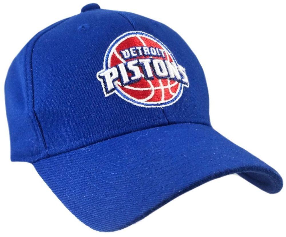 b599b4d0cce  DETROIT  PISTONS  DETROITPISTONS  Blue  HAT  Fit One Size Fits All  NBA   Basket  Ball  Balls  Basketball  NBABasketball  CAP  eBay