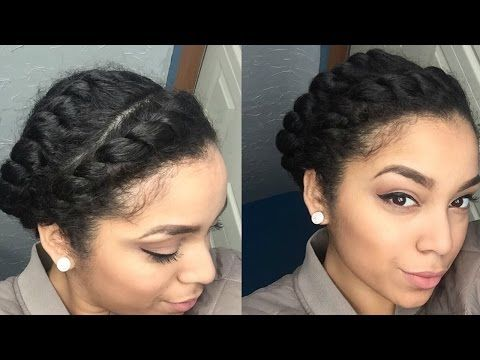 Top 5 Easy Protective Styles For Natural 4b 4c Hair Flat Twist