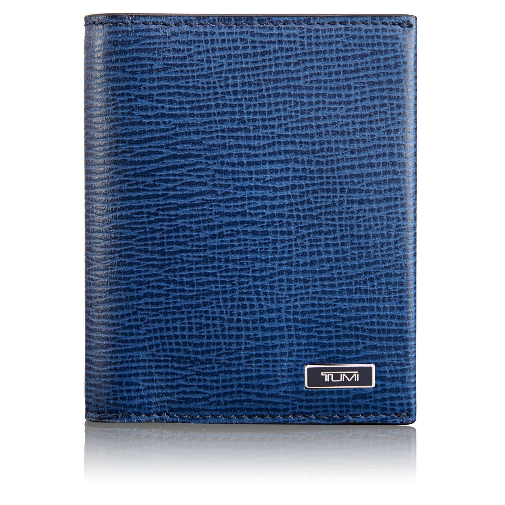 TUMI TUMI ID Lock™ Gusseted Card Case - Cobalt. #tumi # | Tumi Men ...